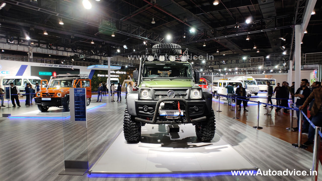 New Force Gurkha 2020