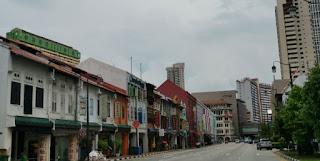 Chinatown, el Barrio Chino de Singapur.