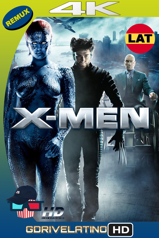 X-Men (2000) BDRemux 4k Latino-Ingles MKV