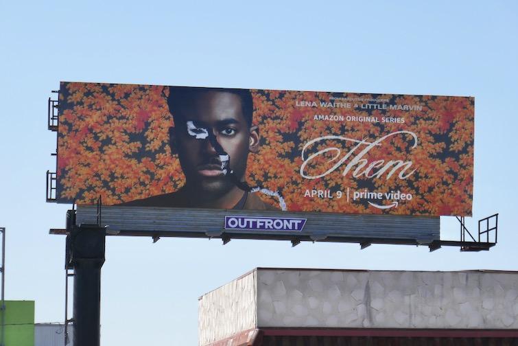 Them TV series billboard