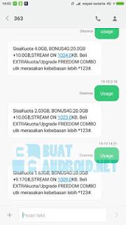 Cara Cek Kuota Indosat IM3 Ooredoo (3G/4G Lte)