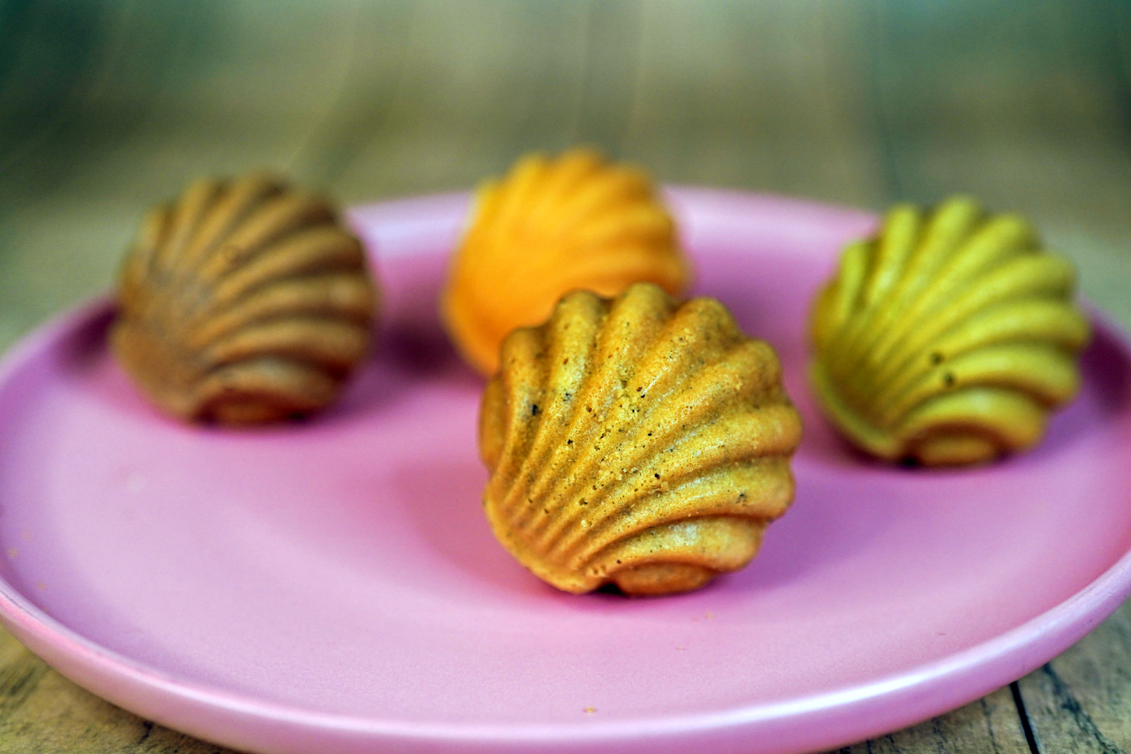 12% bakery: scallop shell madeleines