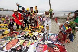 El chamán Juan Osco anunció que llegará hasta Palacio de Gobierno, en La Paz, con la finalidad de realizar un ritual para lograr que Bolivia logre una salida soberana al Pacífico