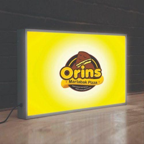 Neon Box Untuk Tempat Makan