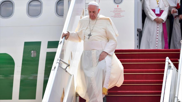 "Papa llega a Myanmar con dilema de decir o no ""limpieza étnica"""