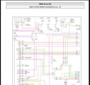 automotive repair service manual acura rl 2006 wiring diagram rh leechul38 blogspot com 2010 Acura RL Owner's Manual 2006 acura rl service manual pdf