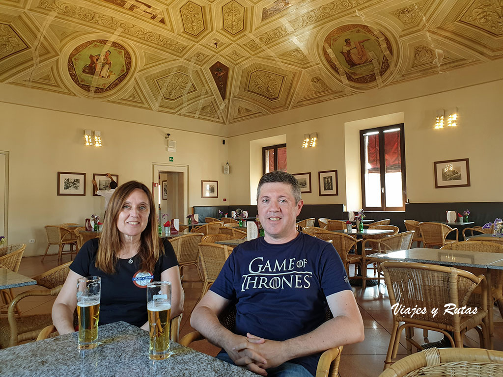 Cafetería del castillo d'Este de Ferrara