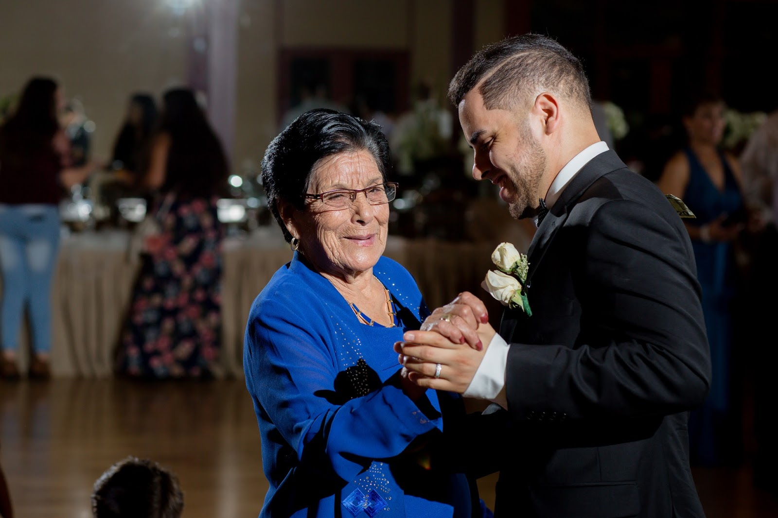 Grandmother of Bride and Groom Dance together