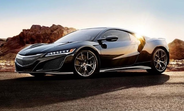 2017 latest Technology Acura NSX Hybrid Is the Friendly Supercar