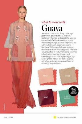 Warna sesuai untuk dipadankan dengan warna guava