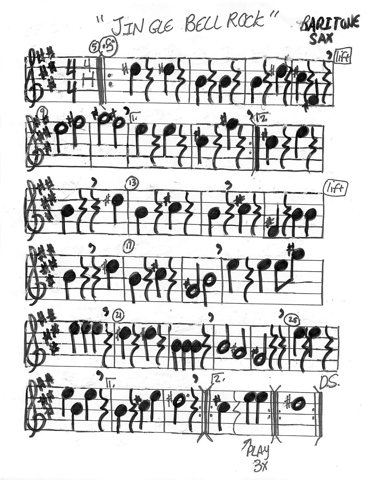 Jingle Bell Rock Chart