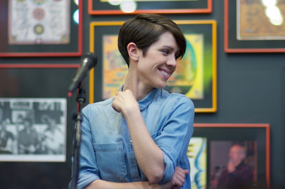 Sara Quin at Twist & Shout