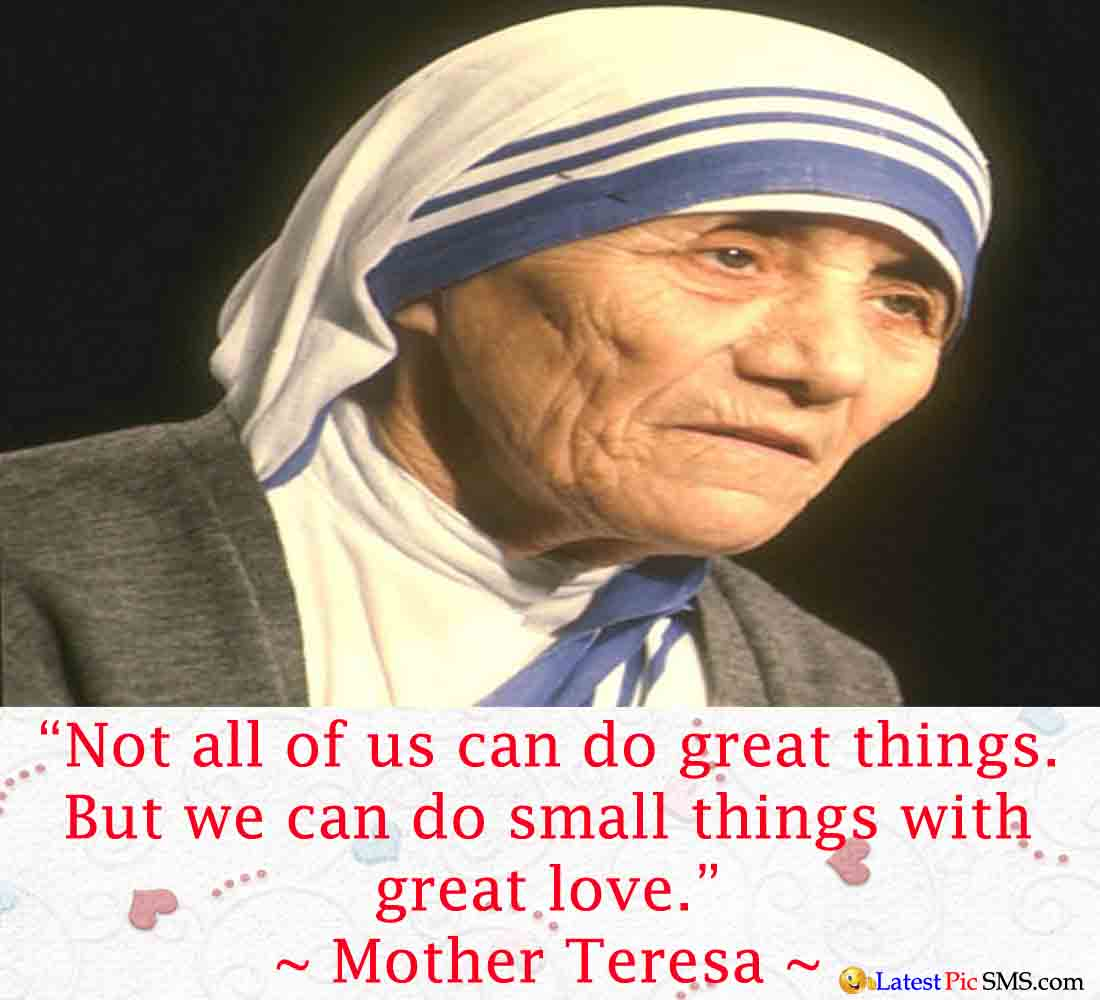 Love Thought of Mother Teresa