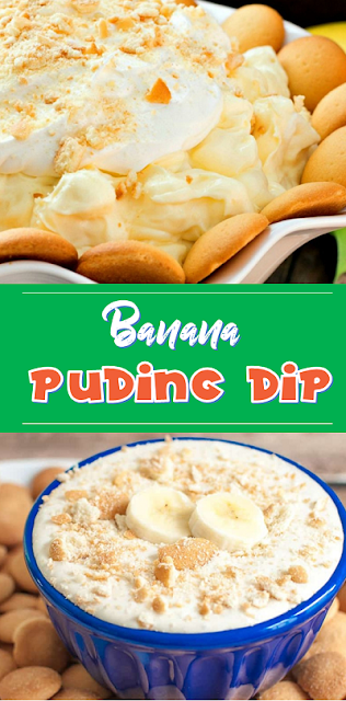 Banana Pudding Dip #dessert