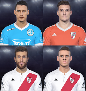PES 2018 Facepack vol II by Facemaker Fede