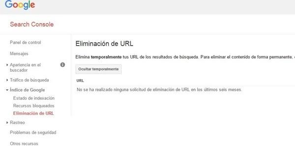 SEO: Como eliminar contenido de los resultados de búsqueda