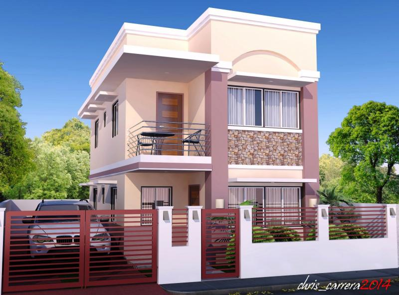 2 story house photos in the philippines bahay ofw - Best home builder website design ...
