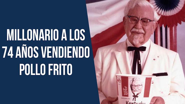 La historia de Harland Sanders, fundador de KFC