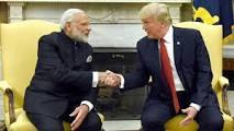 President Trump with Prime Minister Modi!
