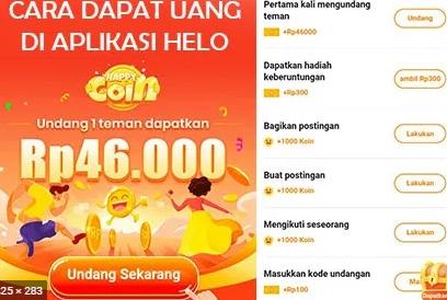 Aplikasi Hello Penghasil Uang Tercepat