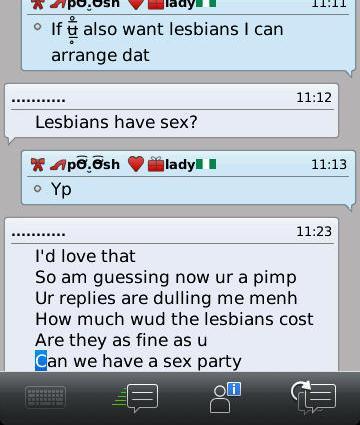 sex chat conversation