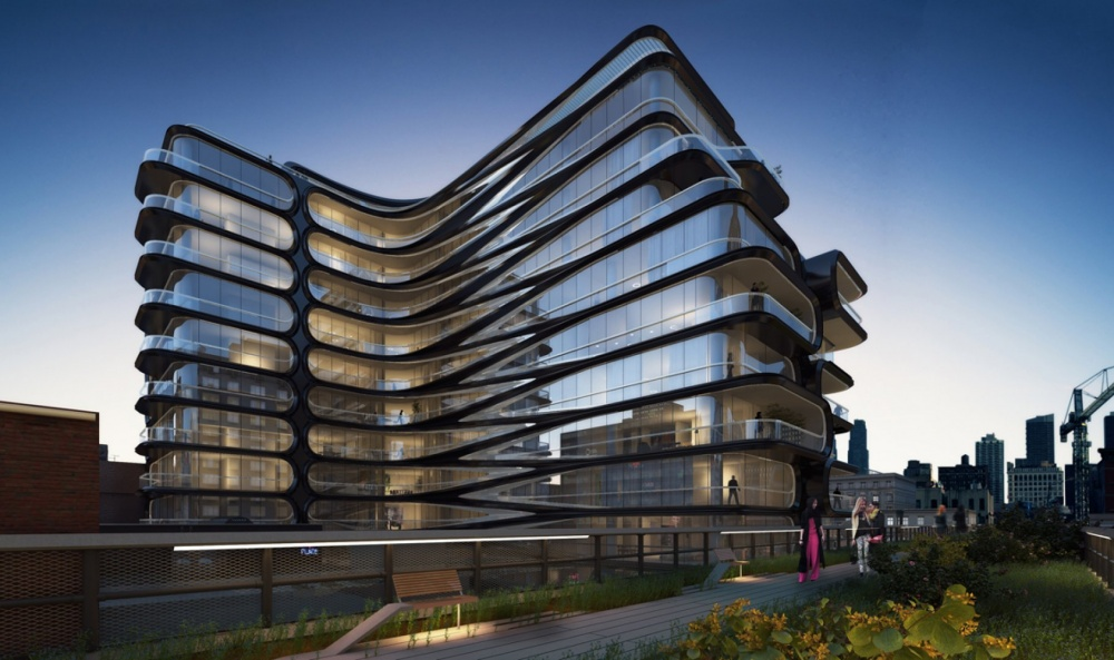 space architecture by zaha hadid