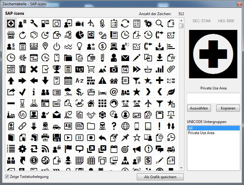 OpenUI5 Developer: SAP Icons Font Tool