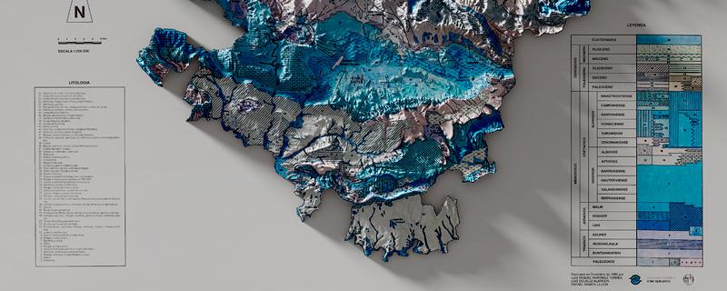 Actualización de mapas clásicos con elevaciones digitales en 3D