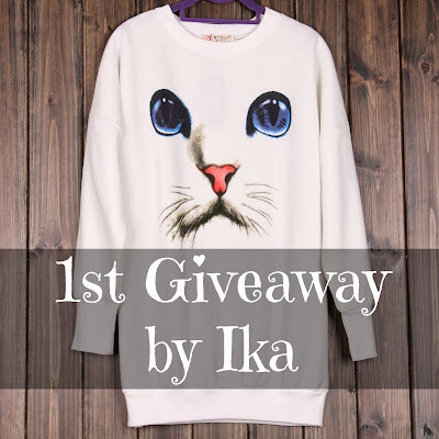 1st Giveaway by Ika