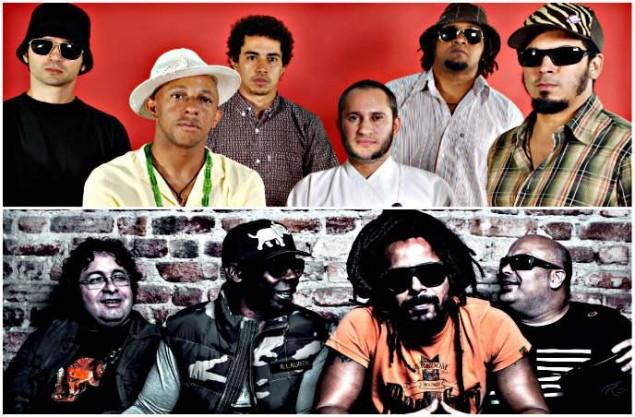 Show de Nação Zumbi e o Rappa no Recife