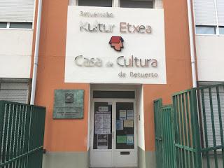 Casa de cultura de Retuerto cerrada en agosto