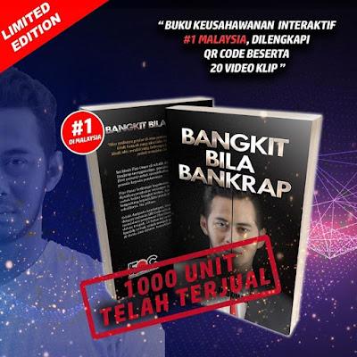 Buku Bangkit Bila Bankrap berdasarkan Pengalaman Fizo Omar