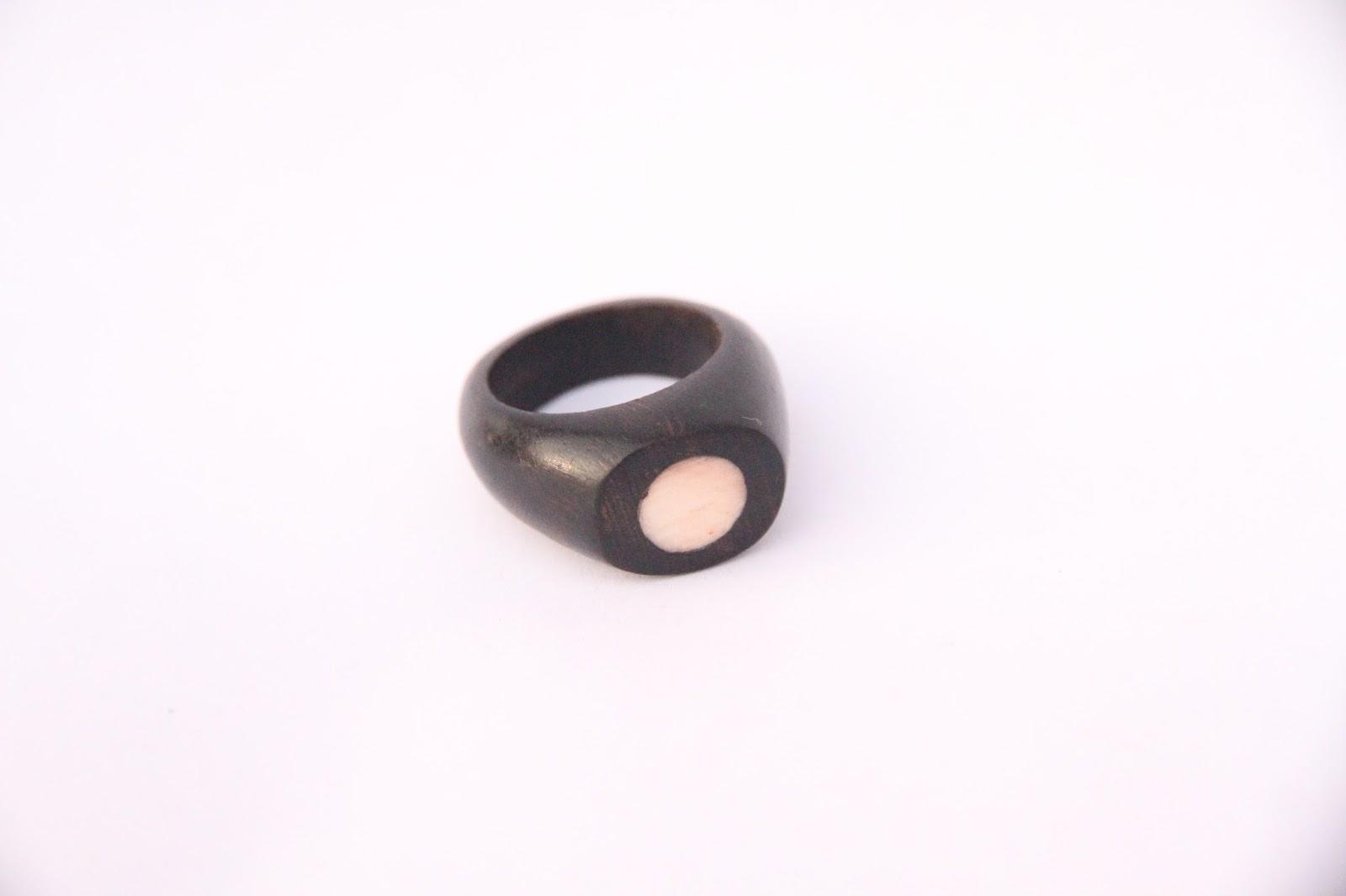 Malik Wood Ring