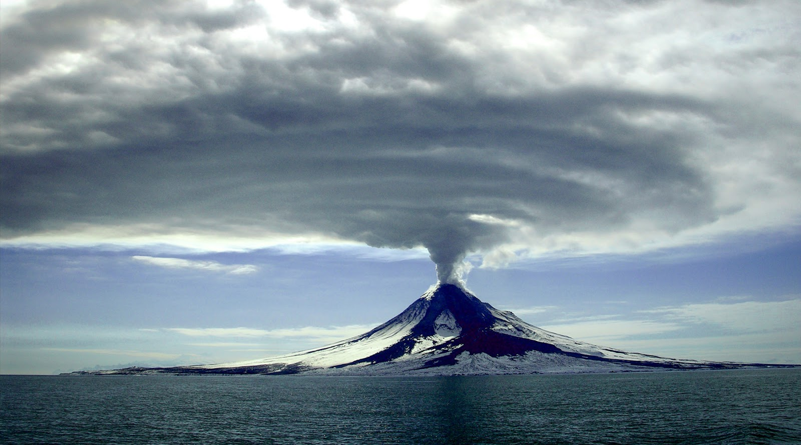 climate change, volcano,