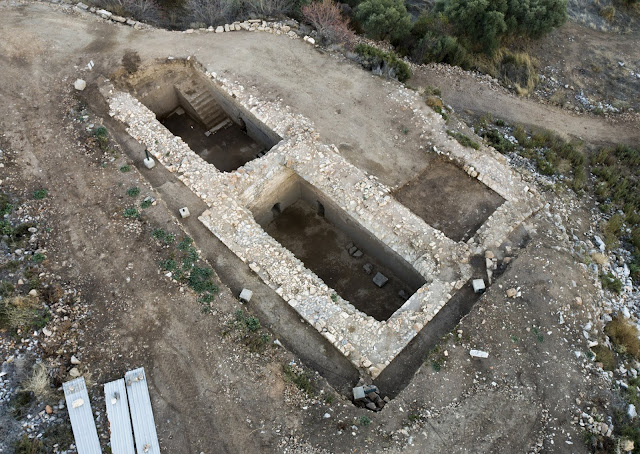 Late Roman cisterns unearthed in Metropolis