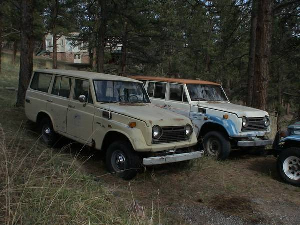 1973 Toyota Land Cruiser FJ55 Wagon And Parts Car