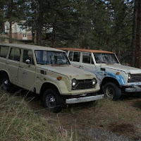 1973 toyota land cruiser fj55 and parts car
