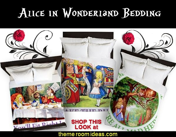 ALICE IN WONDERLAND BEDDING alice in wonderland duvet covers alice in wonderland pillows  alice in wonderland bedrooms alice in wonderland bedding alice in wonderland bedroom decorating