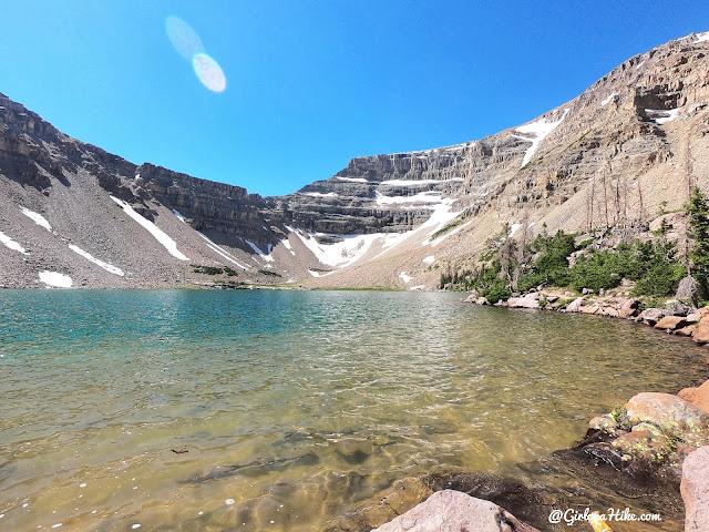 Hiking to Amethyst Lake, Uintas