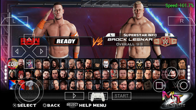WWE 2k19 can download on Android
