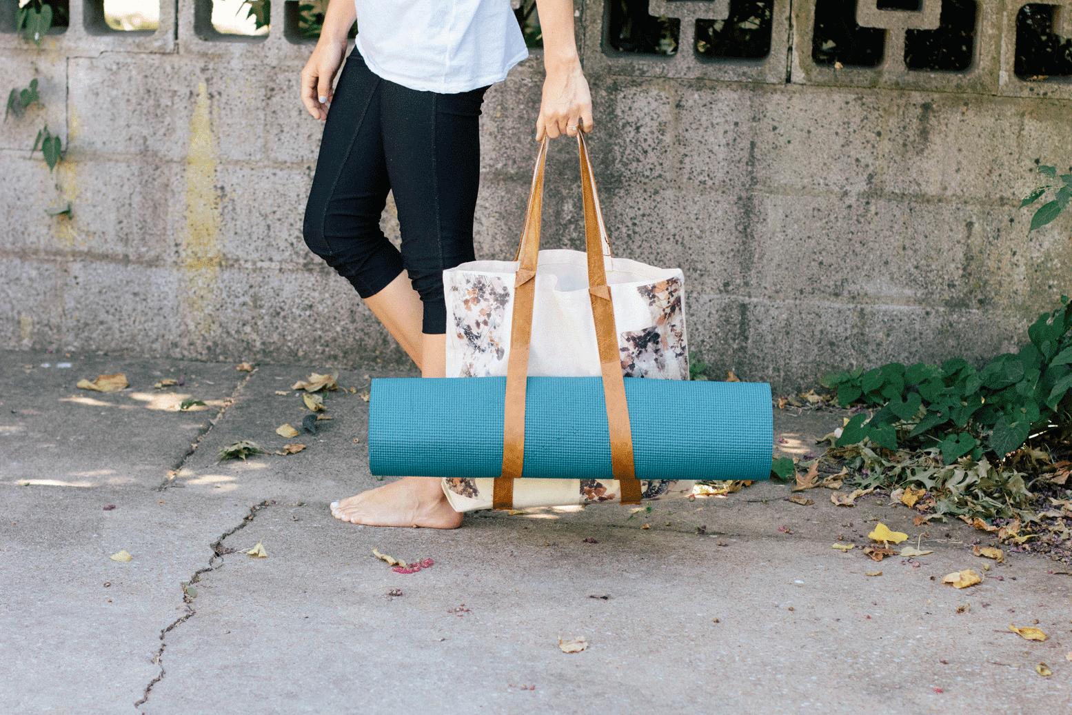 Always Rooney Yoga Mat Bag Diy