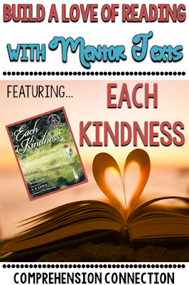 Check out this post if you're teaching theme. Use Each Kindness as your mentor text for modeling.