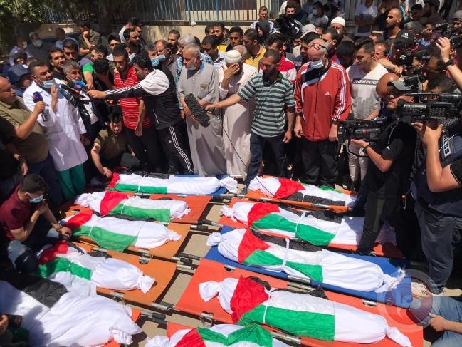 والد الأطفال ضحايا مجزرة الشاطئ يتحدث عن المأساة