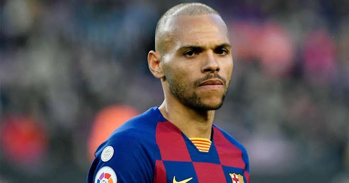 Good news For Barcelona as Braithwaite complete group training earlier than expected