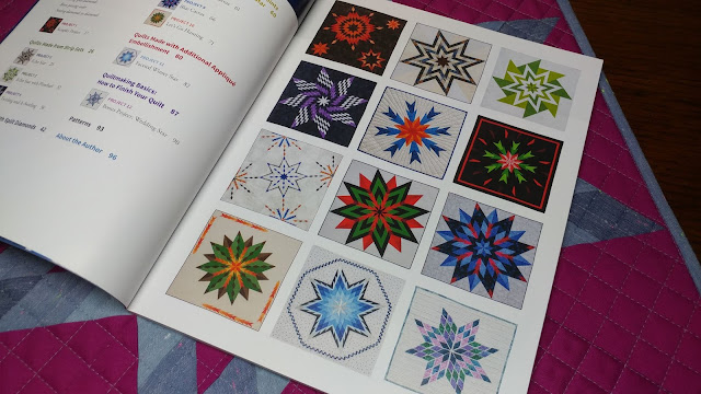 All 12 quilt patterns from the Diamond Star Quilts book by Barbara Cline