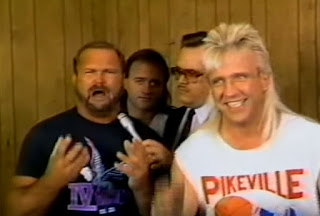 Smoky Mountain Wrestling - Blue Grass Brawl 93 - Arn Anderson and The Rock 'n' Roll Express