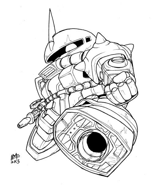 Gundam Zaku