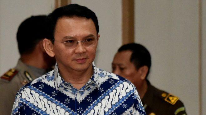 Jakarta governor found guilty of blasphemy