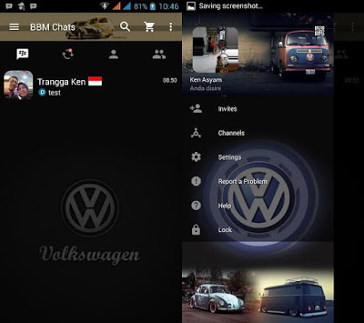 BBM Mod Mobil Volkswagen