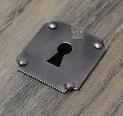 Entrée de clef carrée